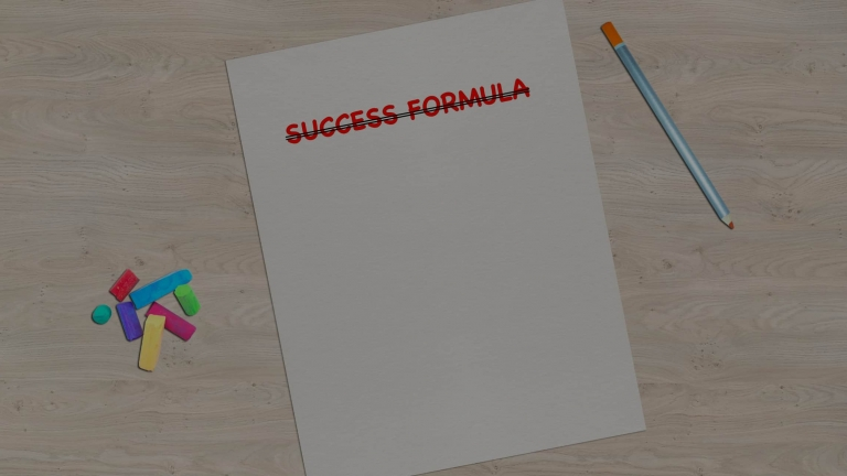 no more success formulas